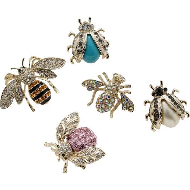 Mini Bug Wreath Clip Set, Pastel - Wreaths - 1