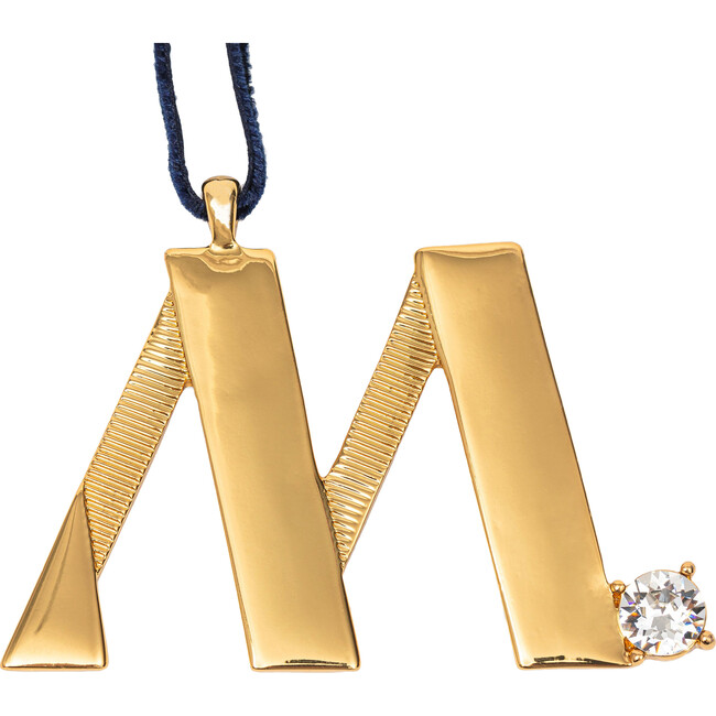 Monogram Hanging Ornament M