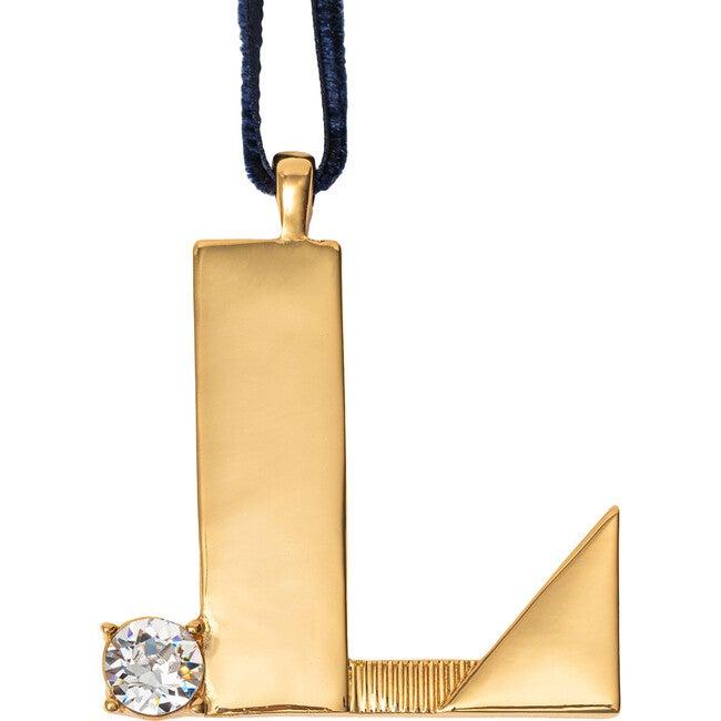 Monogram Hanging Ornament L