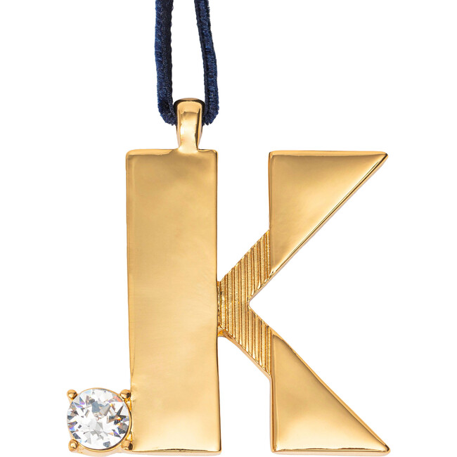 Monogram Hanging Ornament K