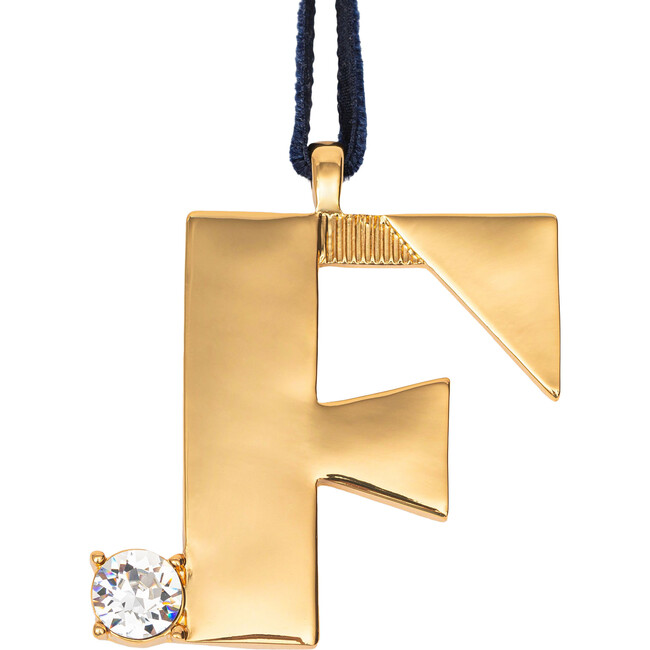 Monogram Hanging Ornament F