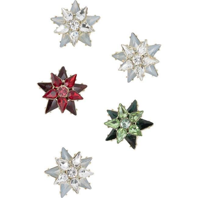 Mini Star Wreath Clip Set - Wreaths - 1