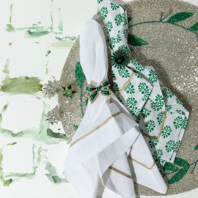 Mini Star Wreath Clip Set