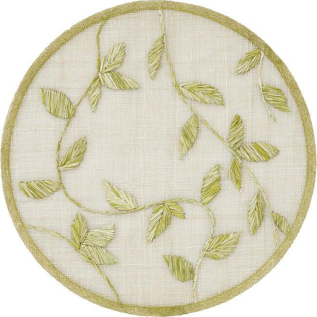 Straw Leaf Placemat, Citrus