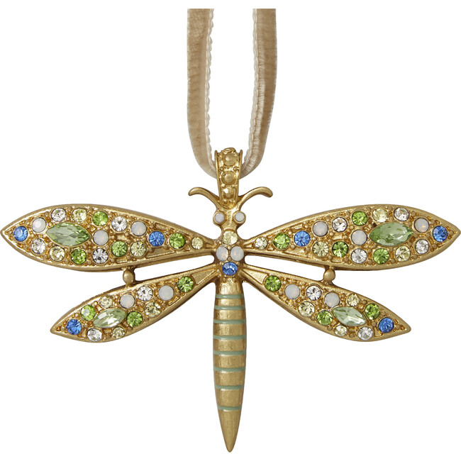 Delicate Dragonfly Hanging Ornament, Pastel