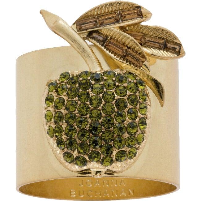 Apple Napkin Rings, Set Of Two
