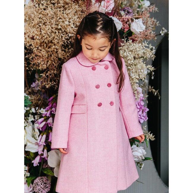 Classic Coat, Pale Pink