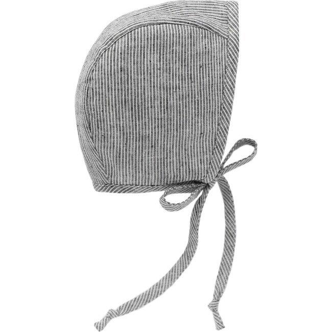 Natural Stripe Bonnet