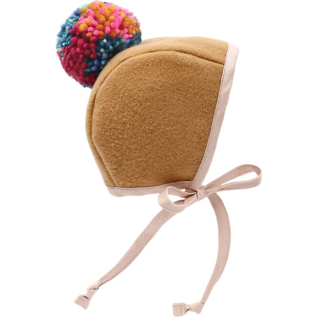 *Exclusive* Holiday Party Pom Bonnet