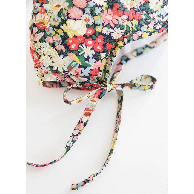 Brimmed Wild Poppy Bonnet