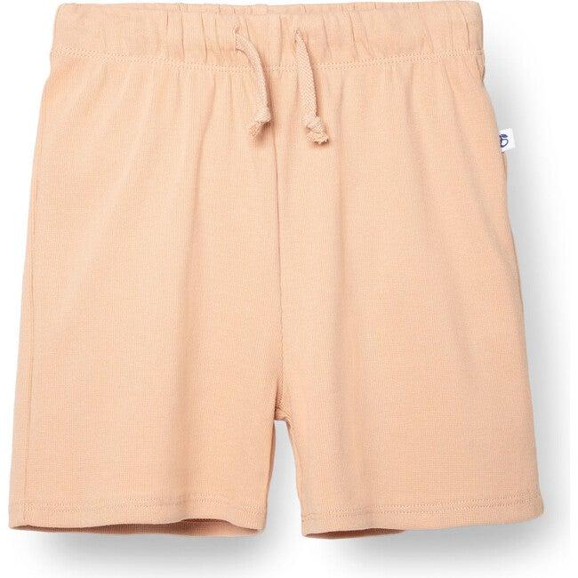 Ribbed Shorts, Blush Pink