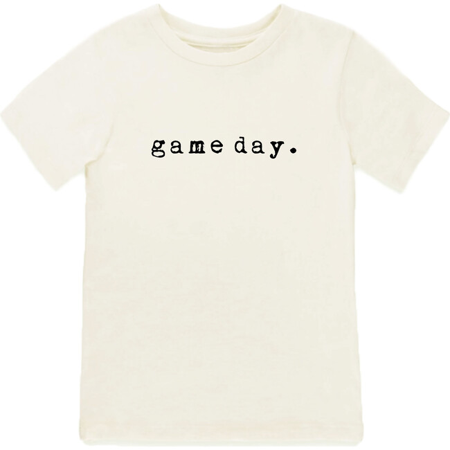 Game Day Short Sleeve Tee, Black