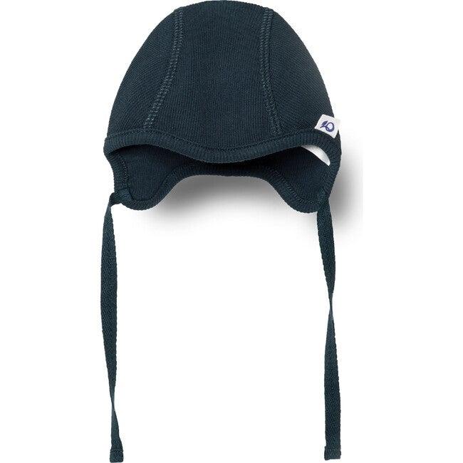 Ribbed Baby Hat, Navy