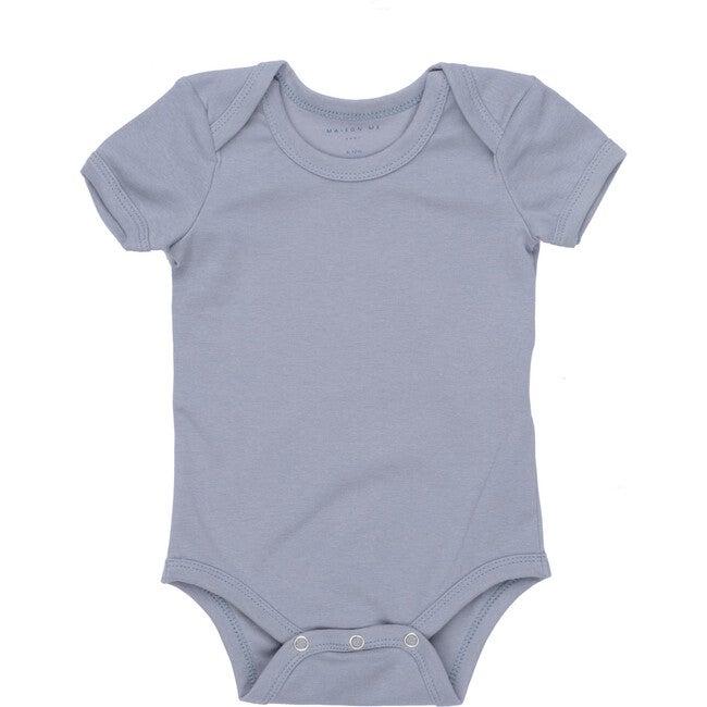 Perry Short Sleeve Bodysuit, Blue