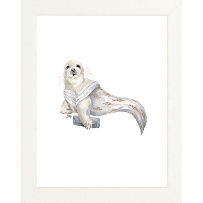 Fancy Animals Print, Seal - Art - 1