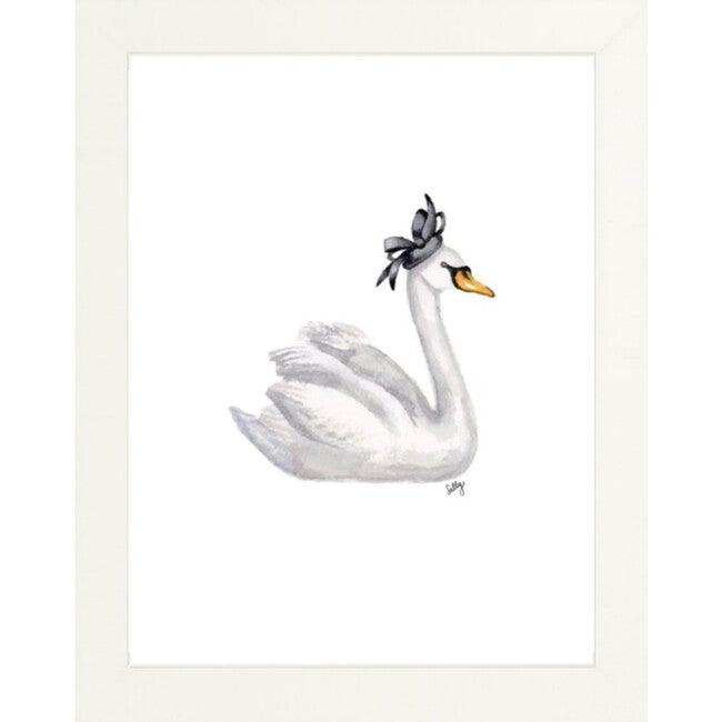 Fancy Animals Print, Swan - Art - 1
