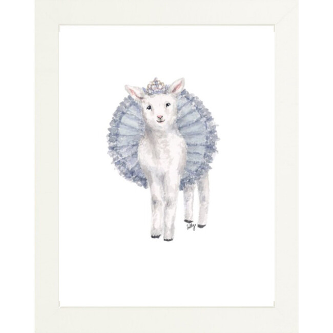Fancy Animals Print, Sheep - Art - 1
