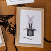 Fancy Animals Print, Rabbit - Art - 2