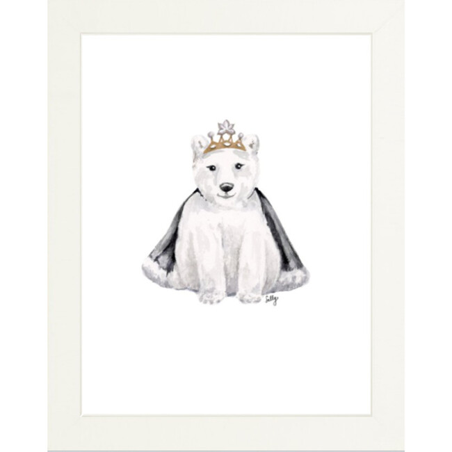 Fancy Animals Print, Polar Bear - Art - 1