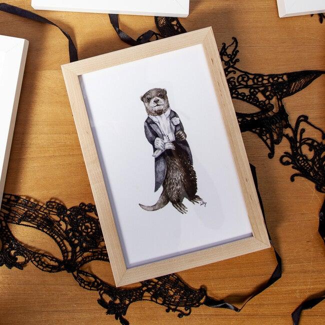 Fancy Animals Print, Otter