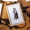 Fancy Animals Print, Otter - Art - 2