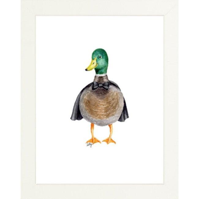 Fancy Animals Print, Mallard Duck