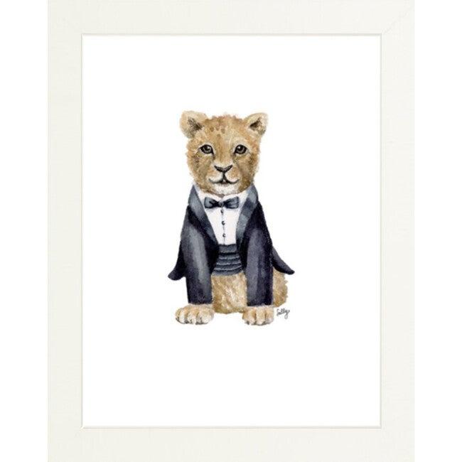 Fancy Animals Print, Lion - Art - 1
