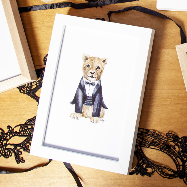 Fancy Animals Print, Lion