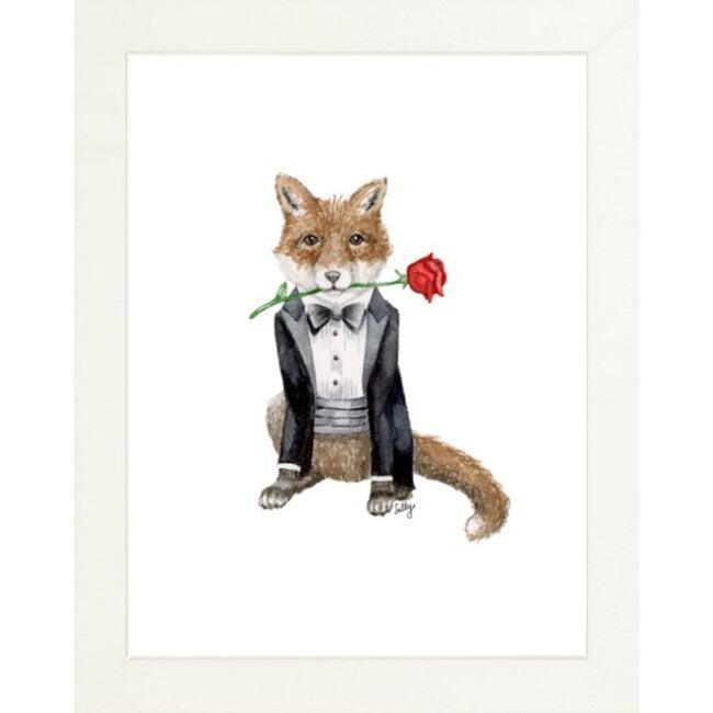 Fancy Animals Print, Fox - Art - 1