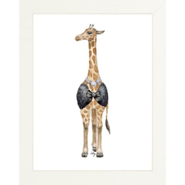 Fancy Animals Print, Giraffe - Art - 1
