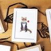 Fancy Animals Print, Fox - Art - 2