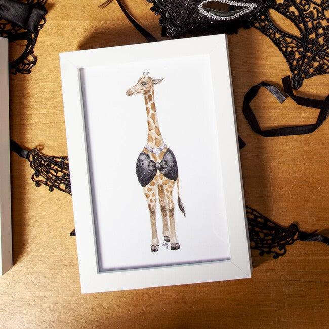 Fancy Animals Print, Giraffe