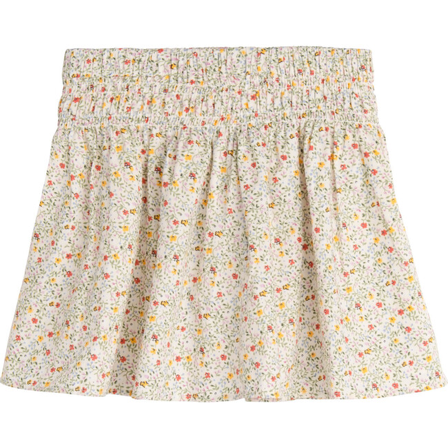 Viola Skirt, Cream Floral