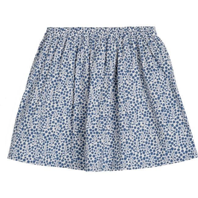 Chloe Skort, Blue Ditsy Floral