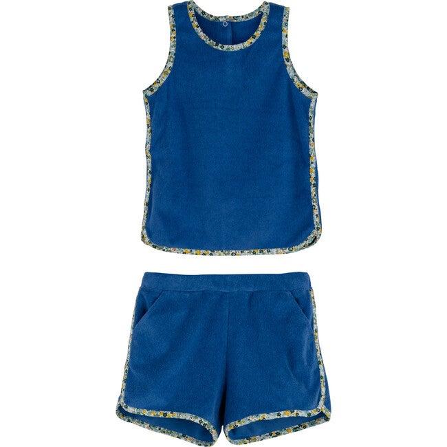 Tate Terry Set, Blue - Mixed Apparel Set - 1