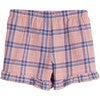 Pia Short, Pink Plaid - Shorts - 3