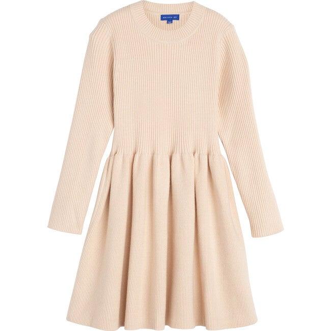 Lea Knit Dress, Winter Cream