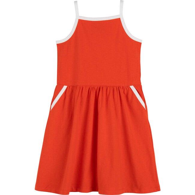 Tasmai Dress, Poppy Red - Dresses - 1