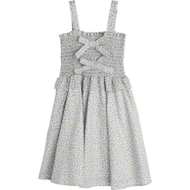 Naomi Dress, Blue Daisies - Dresses - 1
