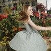 Naomi Dress, Blue Daisies - Dresses - 4