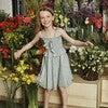 Naomi Dress, Blue Daisies - Dresses - 5