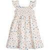Daria Dress, White Flower Pots - Dresses - 1 - thumbnail