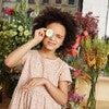 Pauline Dress, Pink Ditsy Flower - Dresses - 4
