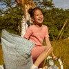 Emerson Short Sleeve Pajama Set, Coral Multi Stripe - Pajamas - 2