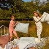 Emerson Short Sleeve Pajama Set, Coral Multi Stripe - Pajamas - 5