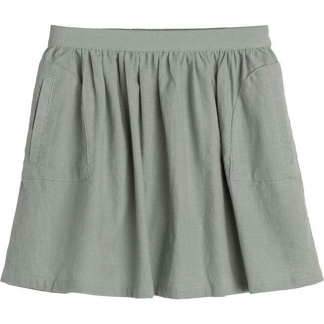 Cassie Cord Skirt, Sage