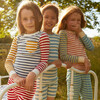 Taylor Long Sleeve Pajama Set, Blue Multi - Pajamas - 5
