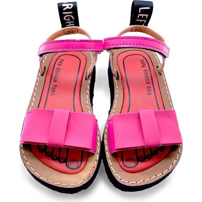*Exclusive* Bow Bow Sandal, Bubblegum Pink