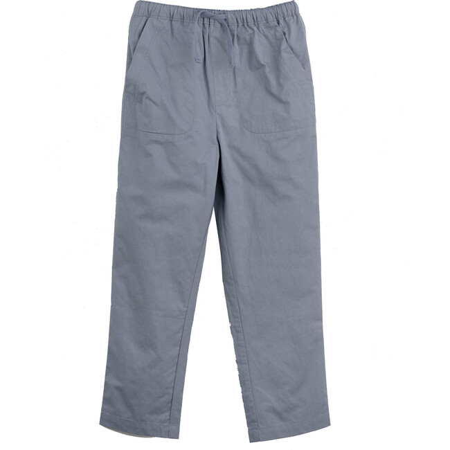 Gunnar Drawstring Pant, Dusty Blue