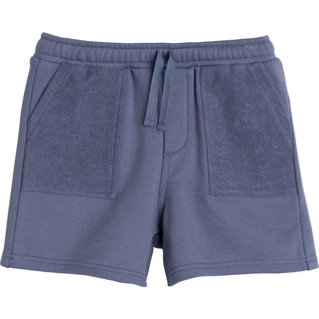 Leon Jogger Short, Dark Dusty Blue